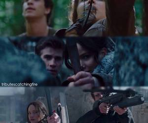 hunger games and gale image