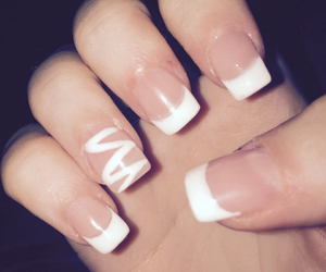 beautiful, french, and nail art image