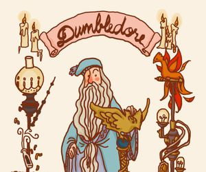 harry potter, dumbledore, and albus dumbledore image