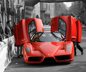 ferrari, lifestyle, and red image