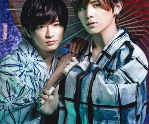 hey say jump, ryosuke yamada, and yuri chinen image