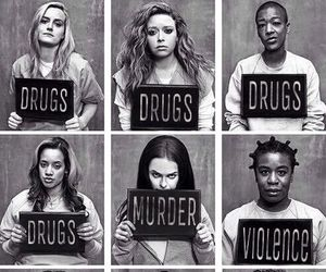 orange is the new black, oitnb, and drugs image
