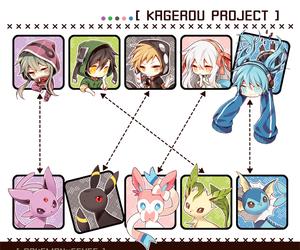 pokemon and kagerou project image