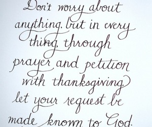 god, prayer, and thanksgiving image