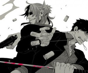 anime, cool, and gangsta image
