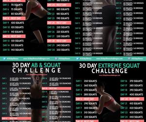 challenge, exercise, and 30 day challenge image