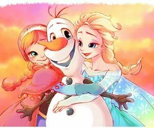 disney princess, queen elsa, and frozen image