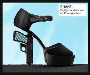 black, chanel, and extra image