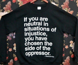 feminism, word, and injustice image