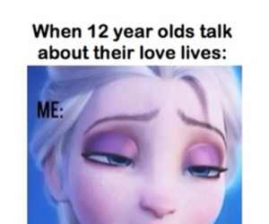 funny, frozen, and elsa image