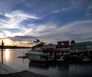 thailand, amphawa, and klongbangnoi image