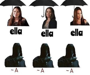 pll, pretty little liars, and umbrella image
