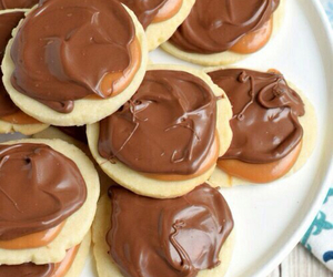 chocolate, Cookies, and galletas image