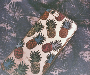 iphone, pineapple, and summer image