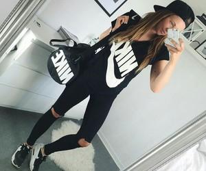 nike, fashion, and black image