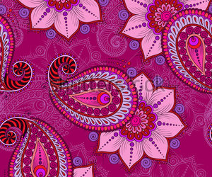 boho, colours, and floral image