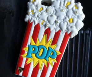 popcorn, iphone, and case image