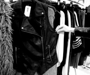 fashion, clothes, and leather image