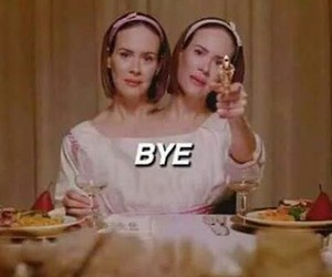 bye, american horror story, and ahs image