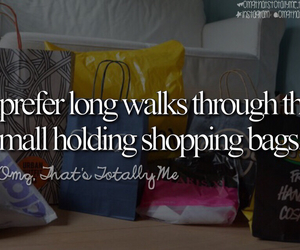 funny, mall, and shopping image