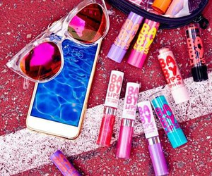 makeup, Maybelline, and babylips image