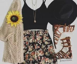 outfit, fashion, and summer image