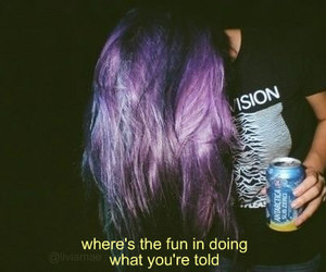 black, girls, and purple image