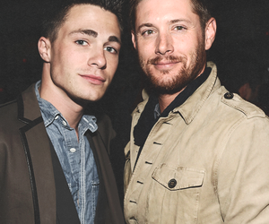 Jensen Ackles, supernatural, and colton haynes image