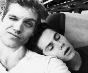 teen wolf, daniel sharman, and dylan o'brien image