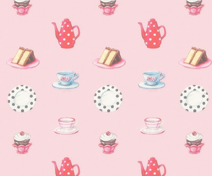 pattern and tea image