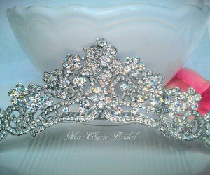 crown, tiara, and quinceanera image