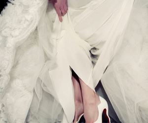 brides, christian louboutin, and designers image