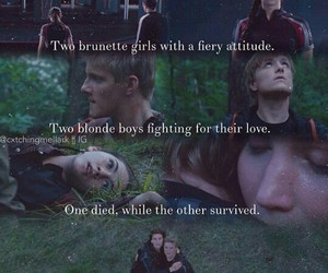 Jennifer Lawrence, the hunger games, and true love image