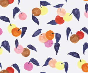 colors, fruit, and pattern image