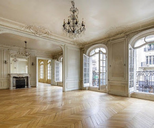house, interior, and paris image