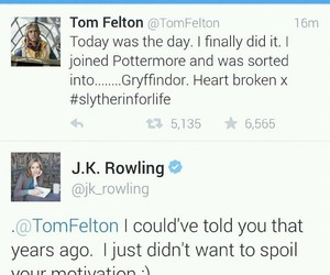 tom felton and pottermore image