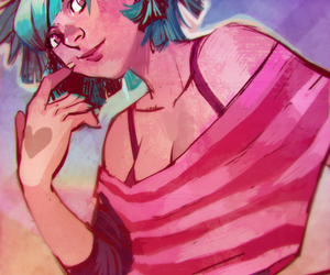 devianART, pink, and Loish image