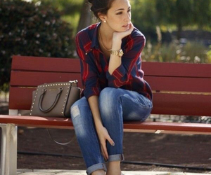 outfit, casual, and jeans image