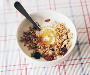 food, breakfast, and cereal image