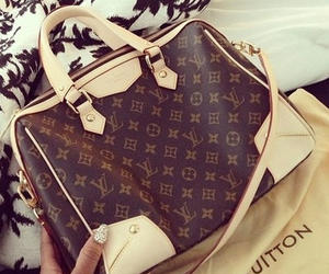 Louis Vuitton, luxury, and money image