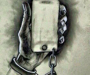 chained, wallpaper, and sad truth image