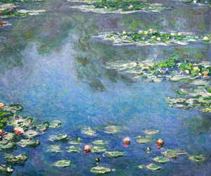 claude monet, water lilies, and nympheas image