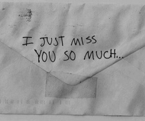 Letter, miss, and quotes image