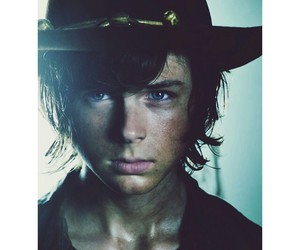chandler riggs and the walking dead image