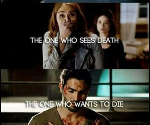 teen wolf, lydia, and allison image