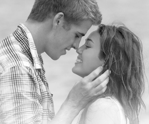 love, couple, and miley cyrus image