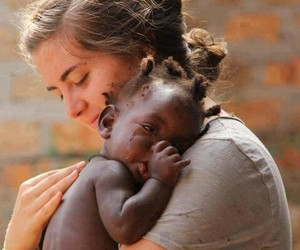 love, baby, and africa image