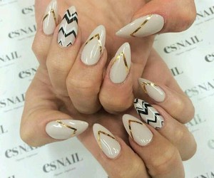 classic, pretty, and nails image