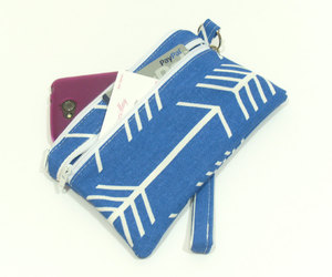 blue clutch, phone wallet, and jaycimay image