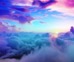 beauty, multicolor, and sky image